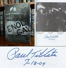 Return of the Enola Gay HAND SIGNED by Paul Tibbets! WWII! Atomic Bomb Air Force