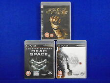 ps3 DEAD SPACE x3 Games 1 +2 + 3 Survival Horror Collection PAL Playstation 3