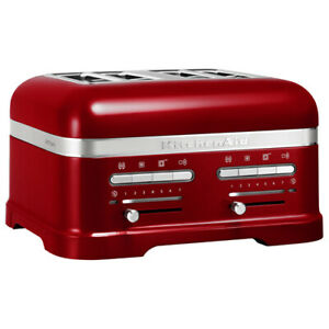 KitchenAid Artisan Candy Apple 4 Slot Toaster