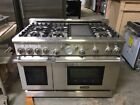"""Thermador Pro 48"""" 6 Burners with Griddle Dual Fuel Gas Range PRD486EDG/07 photo"""