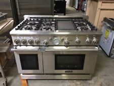 """New listing Thermador Pro 48"""" 6 Burners with Griddle Dual Fuel Gas Range Prd486Edg/07"""