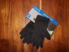 NWT Mens IGLOO Black Stretch Fleece Active Gloves Size L/XL
