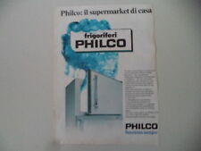 advertising Pubblicità 1976 FRIGORIFERO PHILCO
