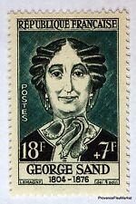 FRANCE GEORGE SAND TIMBRE N° 1112  NEUF ** LUXE GOMME D'ORIGINE  B4