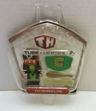 Tube Heroes 2.75 inch Action Figure with Accessories CavemanFilms NEW Gift Idea