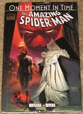 Marvel Premier Ed Amazing Spider-Man One Moment In Time Tpb Hb Graphic Novel