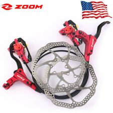 MTB Bicycle Hydraulic Disc Brake Front & Rear with 2pc 160mm Rotors Fit SRAM US