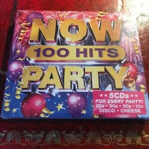 100 Hits (Now Thats What I Call PARTY Music) 5 CD Box Set (NEW) 70s 80s 90s 00s