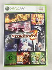 Xbox 360 Dynasty Warriors Strikeforce, German Version, New & Factory Sealed