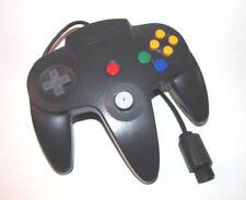Official N64 Controller Black Nintendo 64 Remote Genuine OEM Tight Stick Gamepad