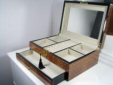 New Large Luxury Wooden Jewellery Gifts Box Piano Finish 818B -3.5k