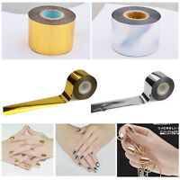1 roll tape Holographic Starry Sky Nail foil Nail Art Sticker Transfer 120m