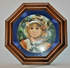"""Royal Doulton """"Angelica"""" Limited Edition Francisco Masseria Plate In Frame"""