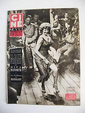 Ciné Revue France N°3 Janvier 1954 Rita Hayworth Mistinguett