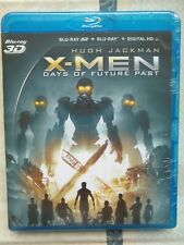 X-Men : days of future past 3D , blu-ray 3D + blu-ray + digital HD neuf sous bli