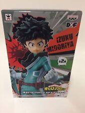 My Hero Academia DXF Figure No.3 Boku No Hero Izuku Midoriya Banpresto Anime New