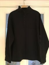 Mens Clothes Size Medium Chest 38-40 Bhs Black Sweater Sweatshirt Top New