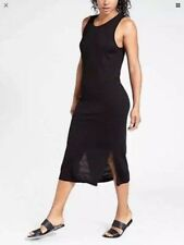 ATHLETA Seamless Dress, NWT / NIP, Size Large, Black, Sold Out in Stores!