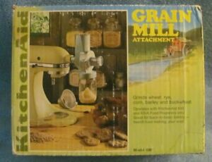 Nice KitchenAid Grain Mill Attachment for K45 & K5-A Mixers - with Box