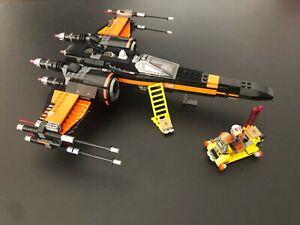 NUOVO X-Wing Poe STAR WARS no LEGO 75102 fighter con accessori e personaggi
