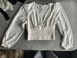 Aritzia Wilfred GENOA Blouse / Size M / Brand New With Tag