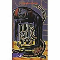 Things Fall Apart with Connections by Chinua Achebe - hard Cover