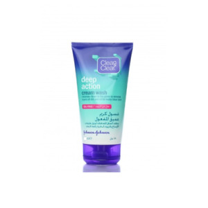 CLEAN & CLEAR DEEP ACTION CREAM OIL-FREE PORE SPOTS CLEANSING FACE WASH 100ml