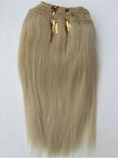 """Blonde 7"""" Synthetic Hair Extensions 100g  Approx 100""""-120"""" Wide"""