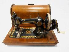 """Antigua maquina de coser MINERVA """"dragones"""" funciona+tapa+utiles no singer"""