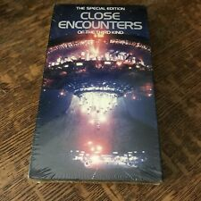 sealed CLOSE ENCOUTERS OF THE THIRD KIND (1977) VHS 1993 special edition SCI-FI