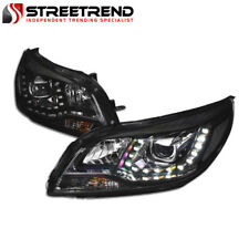 For 13-15/16 Chevy Malibu/Limited Black LED Projector Headlights Signal Lamps Nb