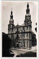 Ansichtskarte Würzburg - Blick auf die Stifthaugerkirche - schwarz/weiß