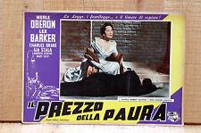 IL PREZZO DELLA PAURA fotobusta poster Merle Oberon Barker The Price of Fear K3