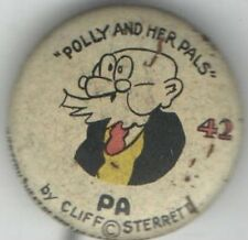 Vintage pin PA pinback POLLY and Her Pals WESTERN Theatre PREMIUM