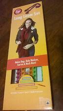 BOYE LONG LOOM SET - 4 LOOMS - MAKES BAGS, BABY BLANKETS, SCARVES, & MUCH MORE