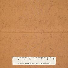 Calico Fabric - Nancy Halvorsen Harvest Melody Gold-Brown Tonal - Benartex 26""