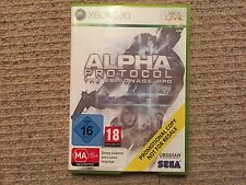 Alpha Protocol - PROMO VERSION Xbox 360 No Instructions UK PAL