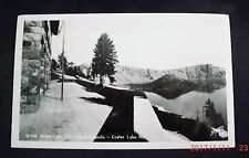 1952 Postcard - Crater Lake From Lodge Veranda - Crater Lake National Park