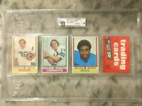 1974 TOPPS FOOTBALL UNOPENED 36 CARD RACK PACK AHMAD RASHAD SHOWING ON FRONT
