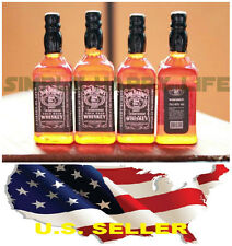 1/6 4 x bottles whiskey alcohol toy for Hot toys Kumik Phicen stage property USA