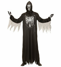 Sensenmann Kostüm Skelett für Kinder Der Tod Halloween Kinder-Kostüm KK