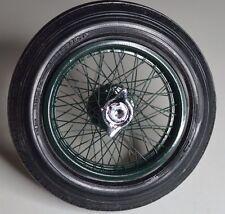 hand laced wire wheels for ITALERI FIAT MEFISTOFELE 806 GP  Bentley airfix 1/12