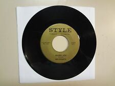 """MID-KNIGHTS: Mamie Lou 2:05- I Don't Have To Wait 2:45-U.S. 7"""" Style # 329,Tenn."""