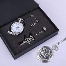 Fullmetal Alchemist Pocket Watch Necklace Ring Edward Elric Anime cosplay Gift