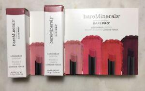bareMinerals BAREPRO Longwear Lipstick Petal BUNDLE!  0.08 Oz Total!!!