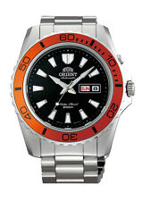 Orient FEM75004B Men's Mako XL Stainless Steel Black Dial Automatic Dive Watch