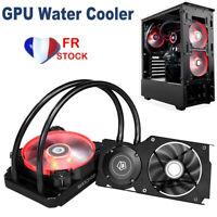 FR ID-COOLING Frostflow 120VGA GeForce 4Pin Ventilateur de refroidissement GPU