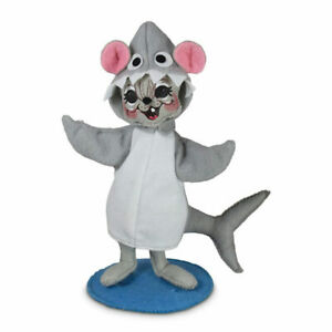 Annalee Dolls 2021 6in Wannabe a Shark Mouse Plush New with Tag