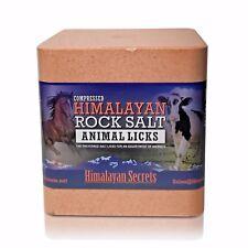 NEW EXTRA LARGE 22 LB Compressed Himalayan Salt Animal Lick - Himalayan Secrets