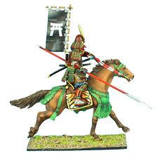 First Legion: SAM025 Mounted Samurai Charging with Yari and Sashimono - Takeda